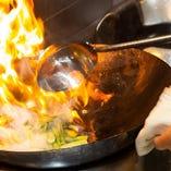 熟練料理人が腕を振るう自慢の本格中華をお楽しみください!