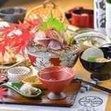 【4,000円】7品お料理のみ旬魚旬菜コース