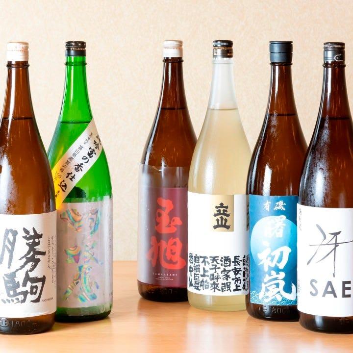 富山の酒造から厳選した一本をご用意
