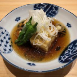 五箇山豆腐の揚げ出汁