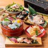 豪華絢爛な料理が揃うコースをご用意しております