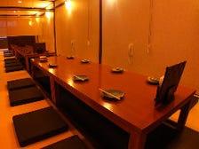 最大30名様まで収容できる宴会個室