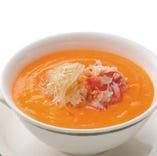 桃花林おすすめ「蟹の卵入りふかひれスープ」