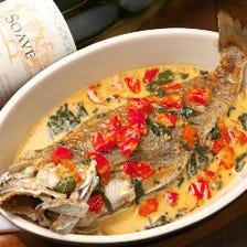 日本海漁船直送 鮮魚料理