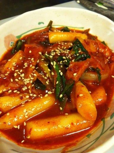 韓国焼肉 マッコリバー 李さんのキムチ  こだわりの画像