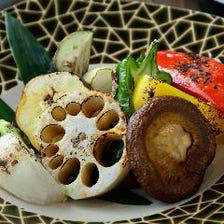 地元京都で採れる「旬の地野菜」