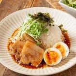 とろける煮豚と味玉の台湾ルーローハン