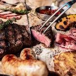 人気NO.1★2種のお肉が楽しめる豪華メインディッシュ!「プレミアムニックコース」〔料理のみ〕
