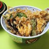 野菜天丼セット