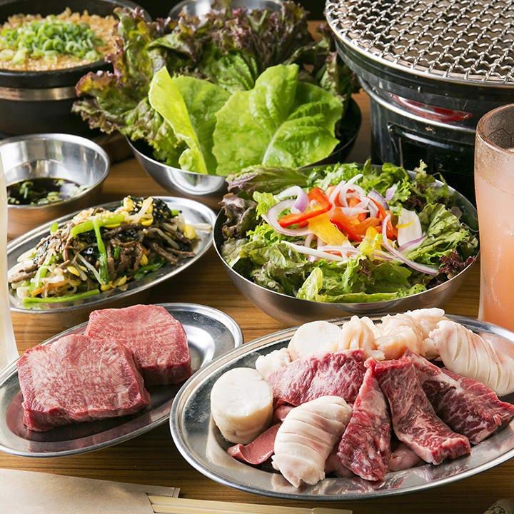 【女性限定】こだわり肉の女子会コース〈全7品〉女子会・宴会・飲み会