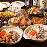 多彩な宴会コースをご用意♪ 料理2000円~ 飲み放題1200円
