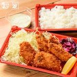 【季節限定】カキフライ定食