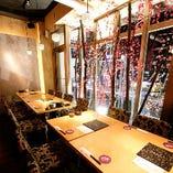 ◆最大16名様のテーブル個室◆雰囲気抜群!宴会・飲み会に是非