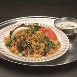 2、ビリヤニセット(チキン/野菜) -Biryani Set(Chicken/Vegetable)-
