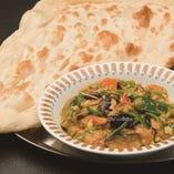 9、季節の野菜コルマセット  -Seasoned Mix Vegetable Curry Set-