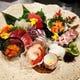 成城きた山 鮮魚のお造り 見た目も華やかです