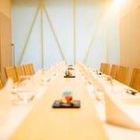 テーブル個室(~18名様)