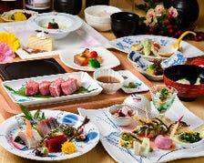 新鮮 旬の食材・伝統的な日本料理