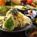 海鮮と野菜の天麩羅(2人前)