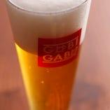麦芽100%の出来立て本格地ビールをご堪能だくさい!