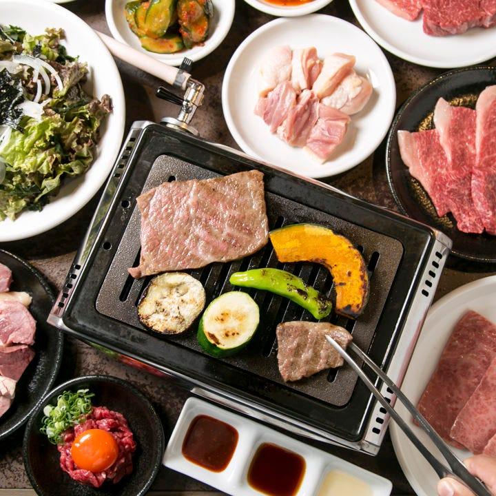 質と量に感激。上質焼き肉を存分に味わえるコースが登場