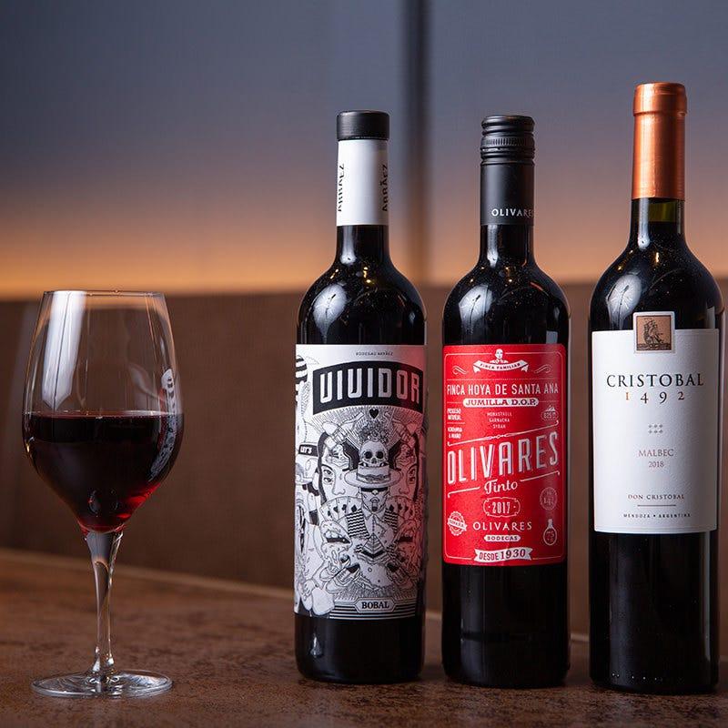 3,190円×100種の厳選ワイン