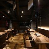 京町屋の雰囲気の残る寛ぎ空間で貸切宴会も◎