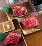 ☆厚切りステーキ   ☆お好みの焼き加減でお楽しみ下さい♪