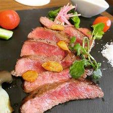 こだわりの肉料理の数々...