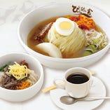 盛岡冷麺ミニピビンパセット