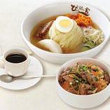 盛岡冷麺ミニプルコギ丼セット