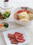 盛岡冷麺焼肉スペシャルランチ