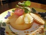 ケーキ単品¥400