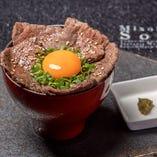 佐賀牛の炙り焼き肉丼