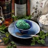 自家製『チョコミントアイスクリーム』〜和三盆で〜