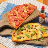 フラットブレットピザ
