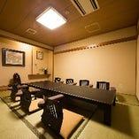 【個室】4タイプのお部屋をご用意!