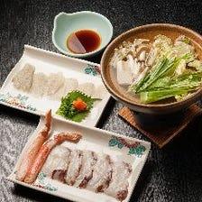 【北海道海鮮と鍋】八角や海鮮、肉料理も楽しめる120分飲み放題付7,000円~宴会コース~