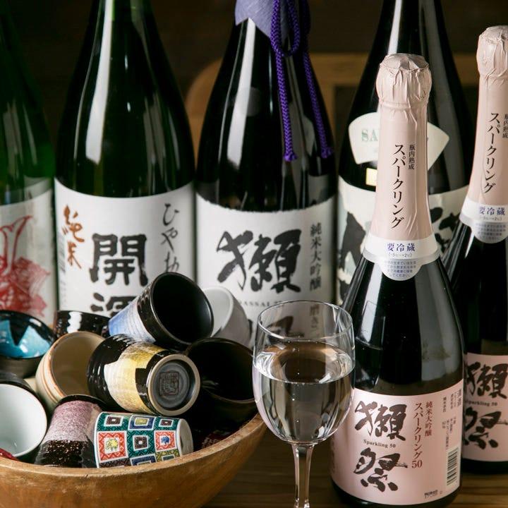 日本酒・地酒多数入荷中!全30種以上