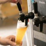 ドリンクは、ビールやサワー、カクテルのほか、知多や白州、ボトルワイン、シャンパンもご用意しております♪