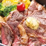 特選 リブロースのステーキ 【200g】