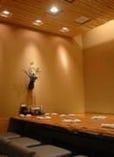 うまい鮨勘でも数少ない完全個室。 宴会にぴったり!