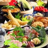 銘柄鶏料理や素材にこだわった一品料理を是非ご堪能ください。