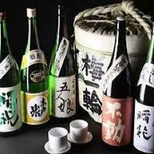 厳選した日本酒をご提供致します。