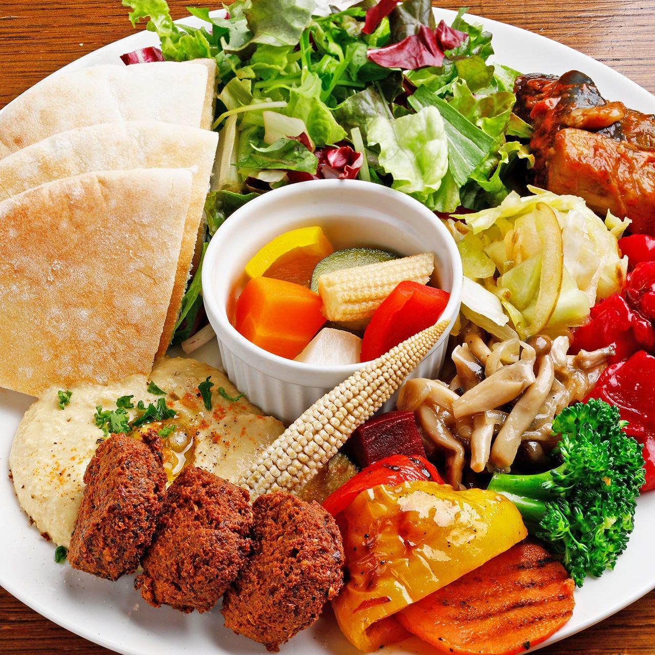 心身が潤う、野菜と豆のシンプル料理