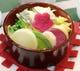 会津野菜蒸わっぱ(温かいサラダ)¥600