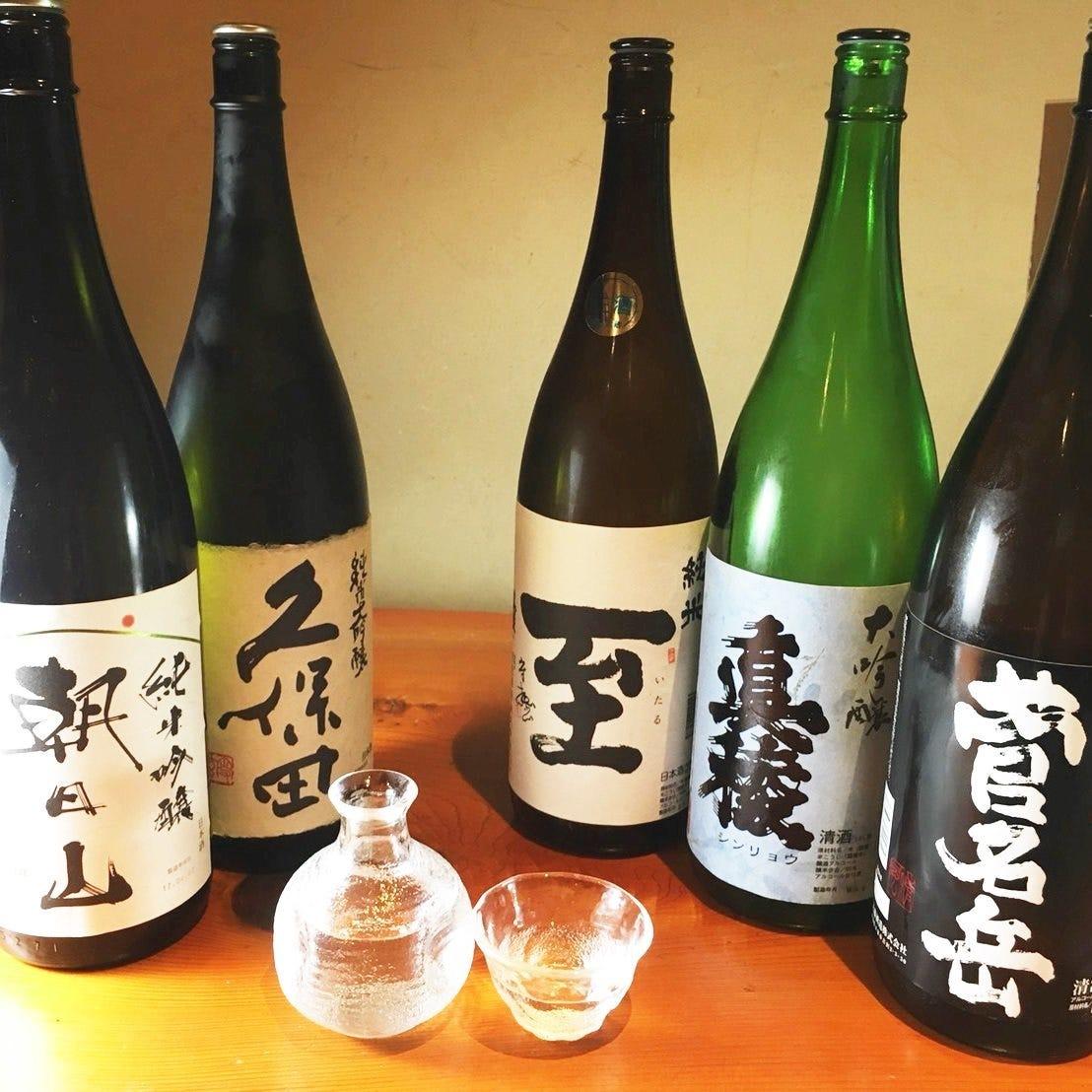 新潟県内の地酒を豊富にご用意