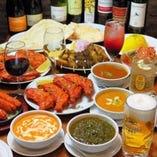 メディア紹介実績ありの本格インド・ネパール料理でご宴会!