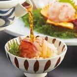 宇和島名物 鯛めしは、鮮度抜群で極上の味です。
