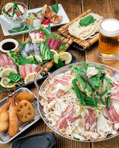 串カツともつ鍋とかすうどん居酒屋 しゃかりき432゛新福島店 こだわりの画像